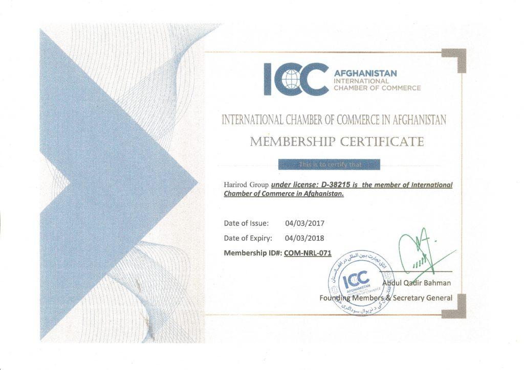 certificate icc solutions